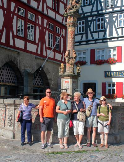 Végig az Altmühl mentén Németországban