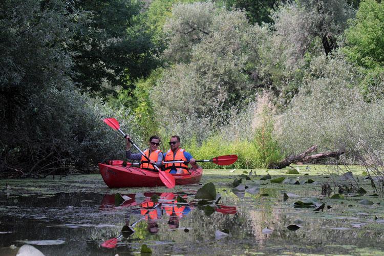 2017.08_1 napos vízitúra a Dráván