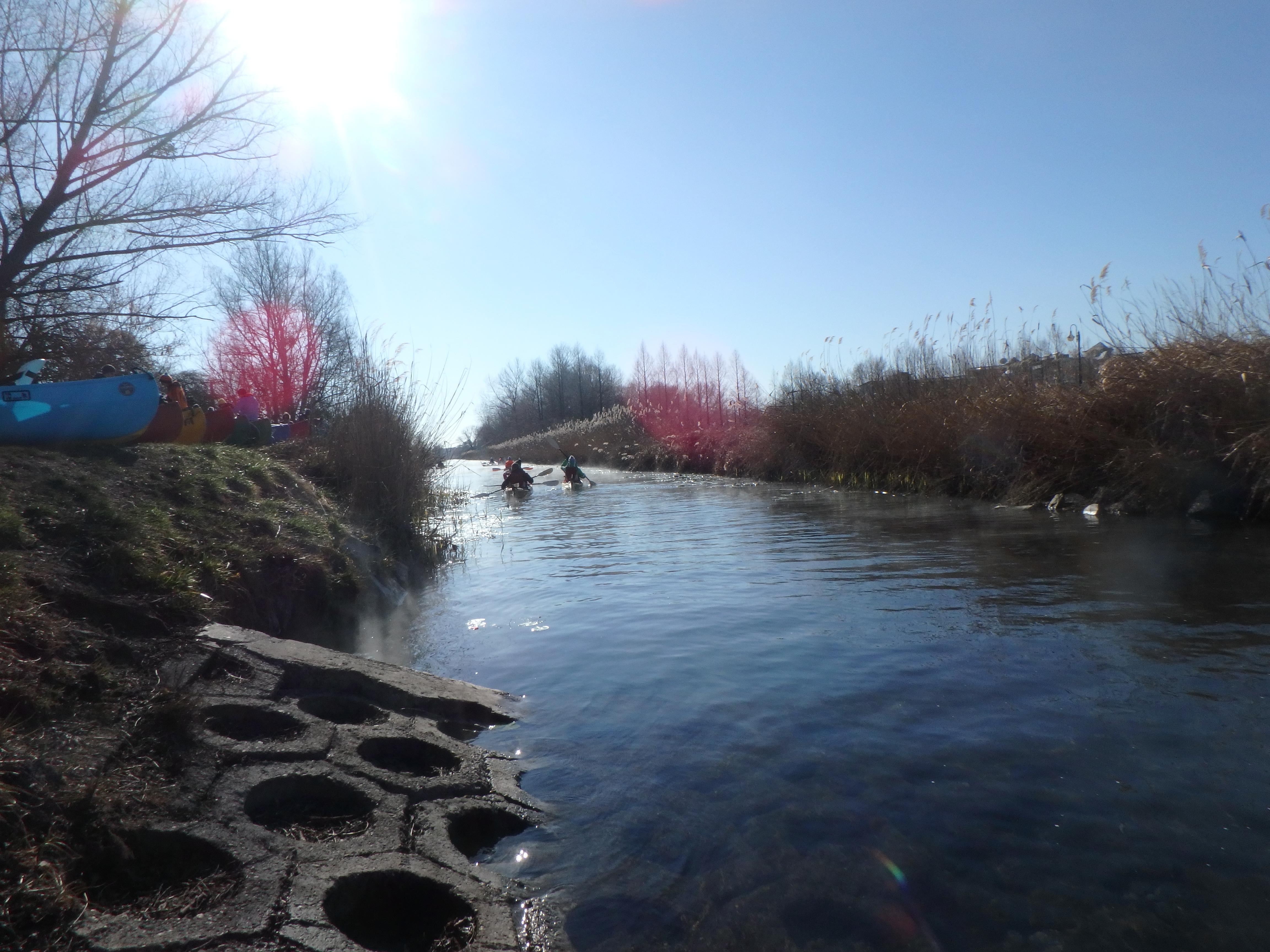 2019.02-Farsangi evezés a Hévíz-patakon