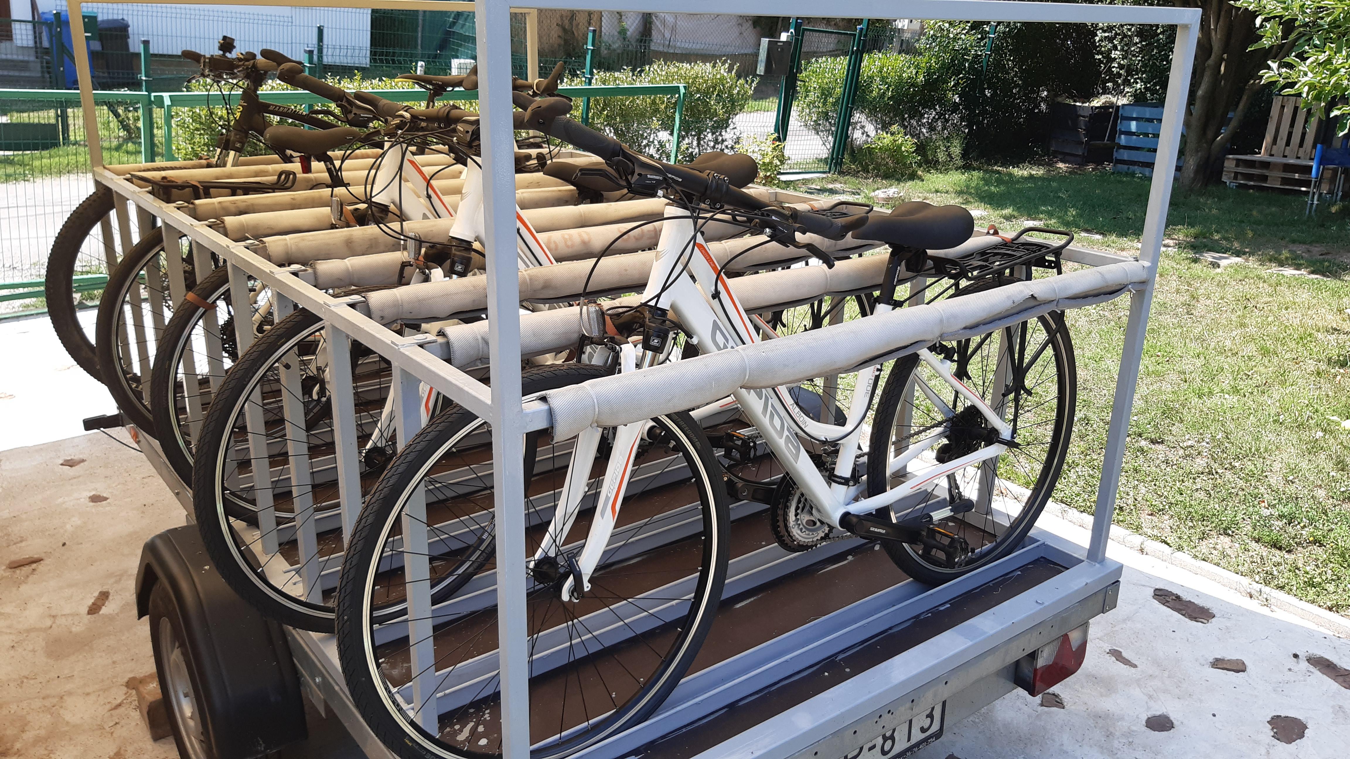 Kerékpáros utánfutó
